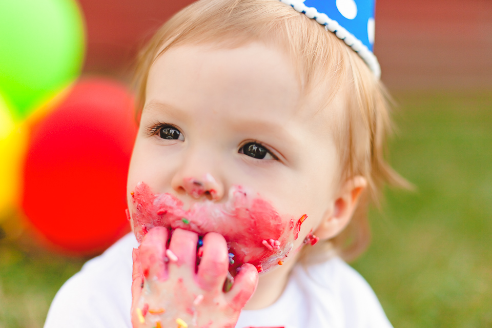 Cake Smash Photography Northern VA