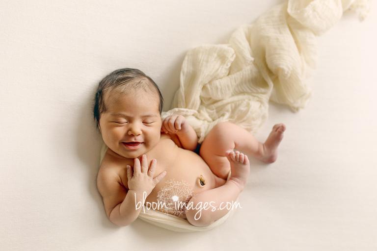 Baby photo by Leesburg VA newborn photographer