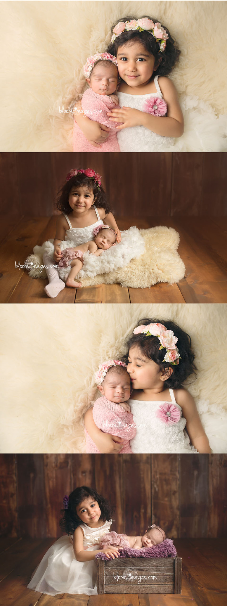 Newborn-Photography-Northern-Virginia-Baby-Girl-and-Big-Sister