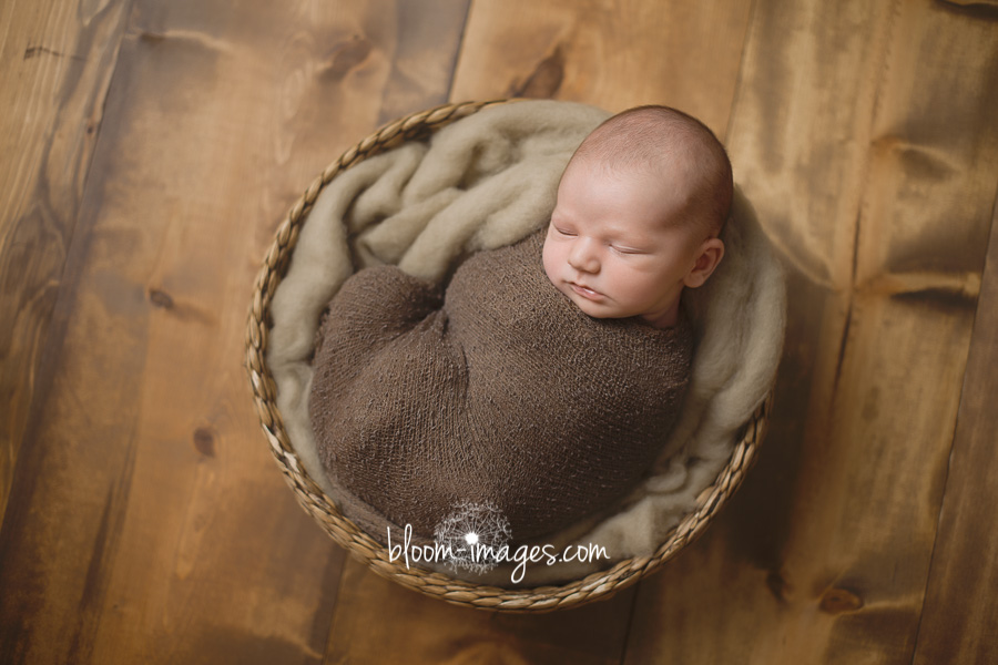 Newborn Photographer Ashburn VA Baby in Basket