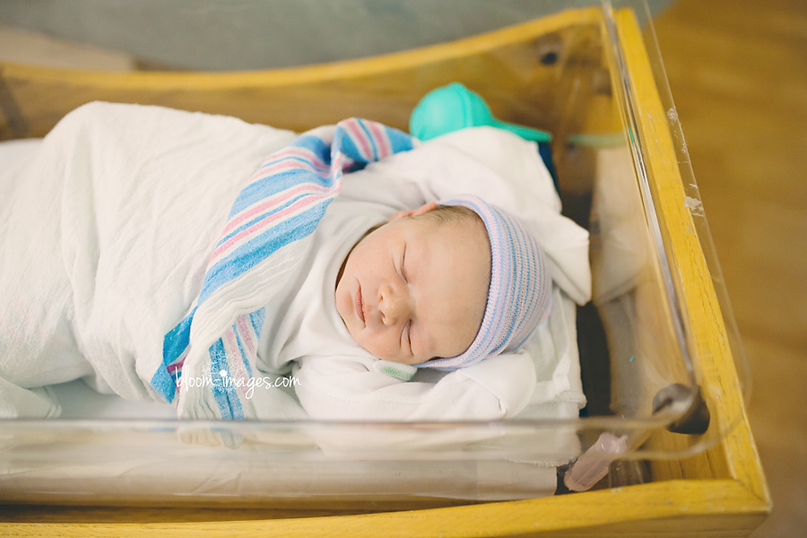 Fresh 48 Newborn Lifestyle Photography Northern VA, Brand new baby captured in the hospital