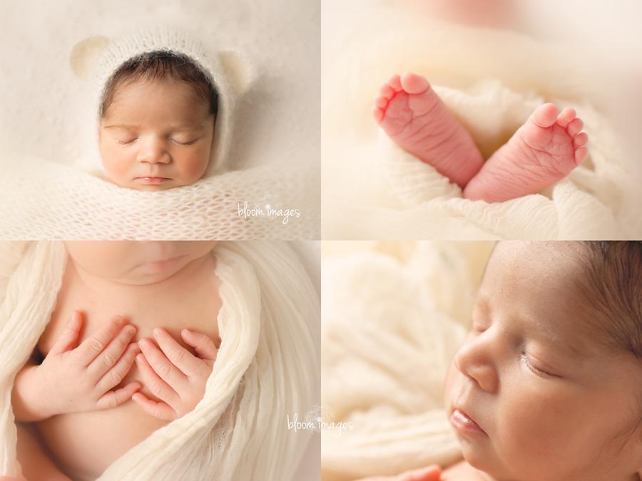 Newborn Photography Studio Ashburn Northern VA baby close ups