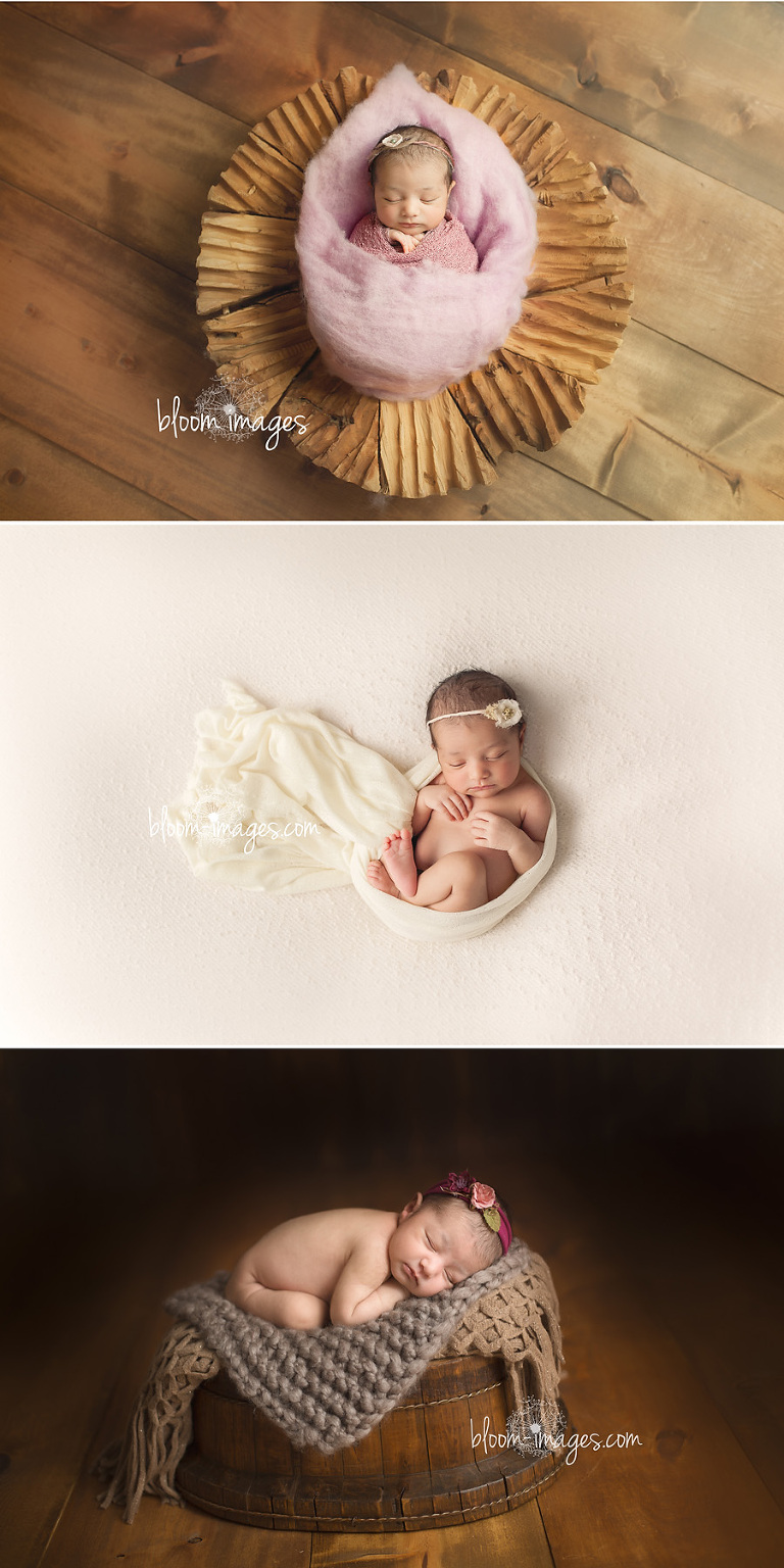 Newborn Photographer in Washington DC and Northern VA infant baby collage
