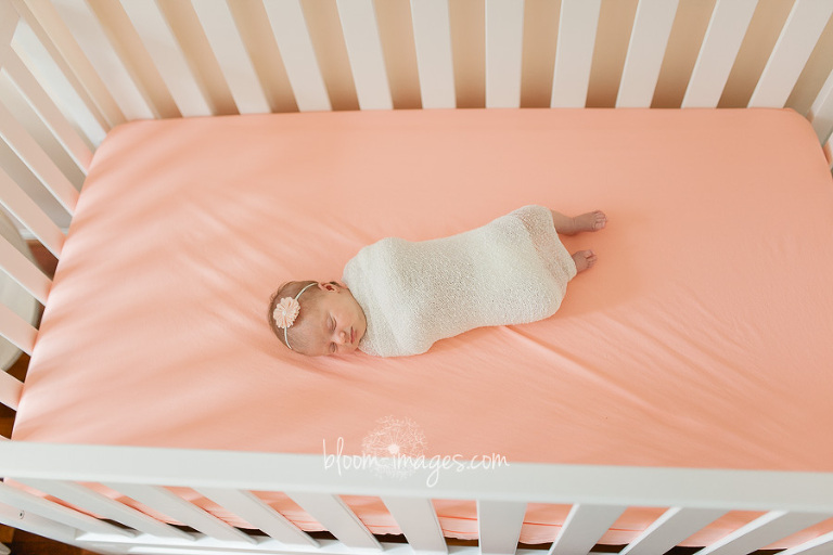 Lifestyle infant photographer in Northern vA